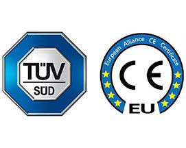 热烈祝贺我司通过CE、CB、GS认证